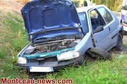 Montceau-les-Mines : Accident sur la RCEA