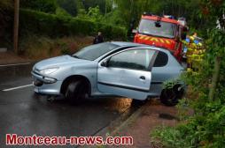 Saint-Vallier: Accident de la circulation