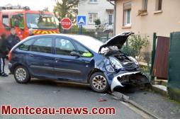 Accident ce mardi matin à Montceau