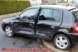 Accident ce lundi matin à Montceau