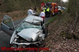 Faits divers – Entre Saint-Vallier et Pouilloux, une conductrice sérieusement touchée