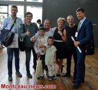 Montceau-les-Mines  : Ouverture du concours international d'accordéon