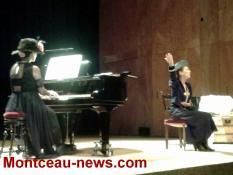 Concert-spectacle aux Ateliers du Jour (Montceau)