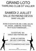 Twirling club de Saint-Vallier (Sortir)