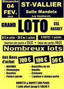 CSL Basket (Saint-Vallier - Sortir)
