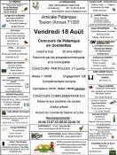 Amicale Pétanque de Toulon sur Arroux (Sortir)