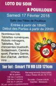 Loto de l'association Coeur Rallye à Pouilloux (Sortir)