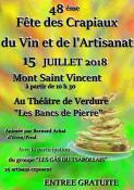 48ème fête  des crapiaux à  Mont-Saint-Vincent (Sortir)