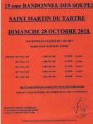 """""""Randonnée des soupes"""" de Saint Martin du Tartre Patrimoine"""