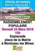 Avenir du centre hospitalier de Montceau