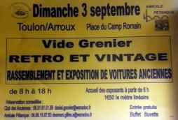 Vide grenier rétro et vintage à Toulon-sur- Arroux (Sortir)