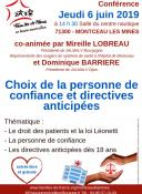 Conférence Familles de France en bassin montcellien