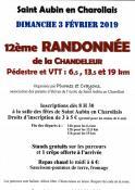 12ème randonnée de la Chandeleur  à Saint Aunbin-en-Charollais