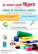 Collecte de fournitures scolaires (Saint-Vallier)