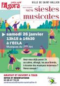 Sieste musical à Saint-Vallier