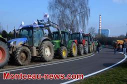 Réactualisé à 17 h 30  - Manifestation d'agriculteurs sur la RCEA... (VOIR NOTRE VIDEO