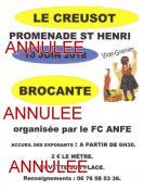 Dernière minute - Brocante – vide grenier du FC ANFE du Creusot (Sortir)