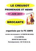 Brocante - vide grenier du FC ANFE du Creusot (Sortir)
