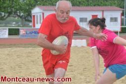 Montceau-les-Mines : RCMB / Le Beach Rugby
