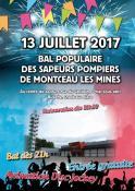 RAPPEL / Bal populaire des sapeurs pompiers de Montceau (Sortir)