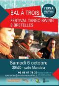 """Rappel - Dans le cadre du festival """"Tango, Swing et Bretelles"""" à Saint-Vallier"""