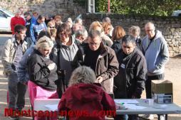 Les marcheurs gourmands ont répondu à l'appel (Saint-Vallier)