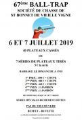 67ème Ball Trap à Saint Bonnet de Vieille Vigne