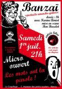 Samedi 1er juillet au Bar Le Coquillage (Sortir)