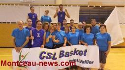 CSL Saint-Vallier basket: Les CRAZY DUNKERS ont enflammé la salle!
