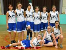 Montceau Basket : 2/2 pour les féminines du BMB