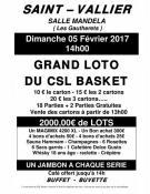 CSL Saint Vallier Basket (Sortir)