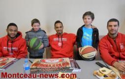 Le Basket Montceau Bourgogne a fait les choses en grand pour ses petits ! VOIR LES VIDEOS