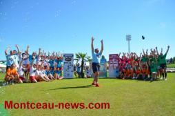 Beach Rugby tournoi des Anciens du club (Montceau)
