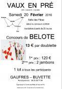 Rappel - Comité des fêtes de Vaux-en-Pré (Sortir)