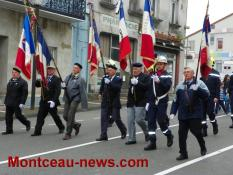 Commémoration de la victoire du 8 mai 1945 (Blanzy)