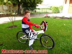 Portrait d'un champion de BMX (Blanzy)