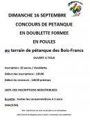 Les amis des Bois-Francs (Saint Vallier)