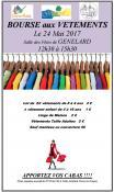 Bourse aux vêtements à Génelard