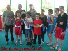 Une journée inoubliable pour le gala du Boxing club de Pouilloux