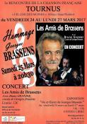 """Hommage à Georges BRASSENS"" à Tournus (Sortir)"