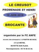 Brocante – vide grenier du FC ANFE du Creusot (Sortir)