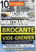 """Rapppel -Brocante - vide-grenier """"à thèmes"""" à Montchanin (Sortir)"""