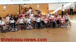 CSL Saint-Vallier basket : Le Handi Basket à la Fêtepour les 40 ans du club!