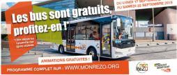Semaine européenne de la mobilitédans la communauté urbaine