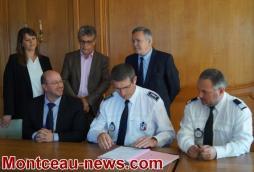 Signature d'une convention de sécurité dans les transports