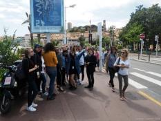 Episode 3 – en direct du festival de Cannes 2018 : « contribution » des élèves de l'option audiovisuel et cinéma du lycée Parriat…