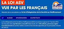 Réactualisé - Résultats de la consultation sur la loi d'Adaptation de la Société au Vieillissement