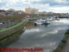 Des projets d'aménagementpour le port de Montceau et le canal du Centre...