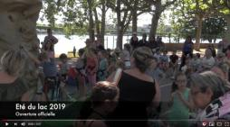 Lancement de l'été du lac 2019 :  LA VIDEO