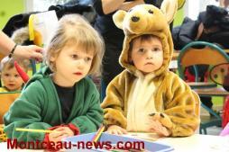 Carnaval de la petite enfance aux Gautherets à Saint-Vallier